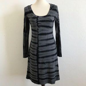 {Karen Kane} Long Sleeve Tie Dye Dress